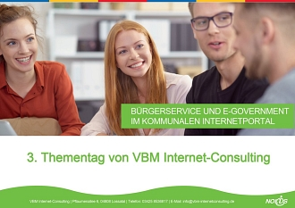 VBM Internet-Consulting Thementag 2018